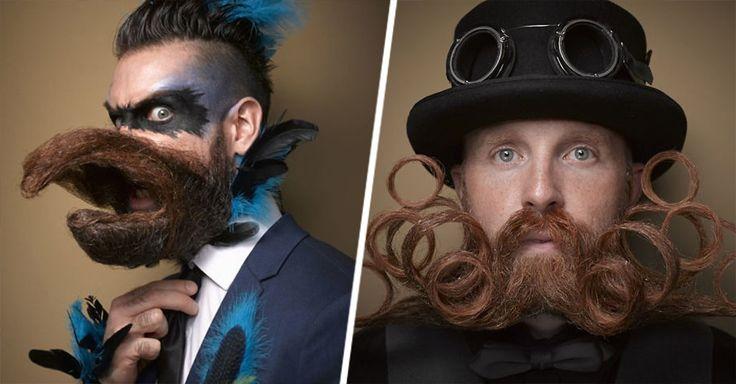 Estos machos han decidido sus mejores barbas y bigotes y lucirlos al extremo en la Competencia Nacional en Nashville, Tennesssee; que se celebra año con año.