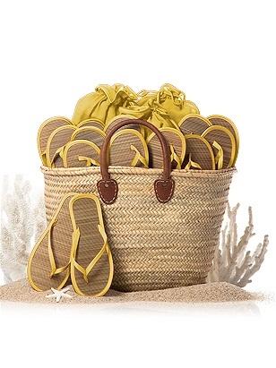 Klapki dla gości weselnych dessy.com