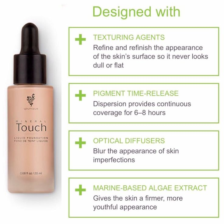 Some things about Younique's Touch Liquid Foundation that you may have not known