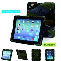 Ipad 4 & 3 & 2 Case; Gogoing Hot Newest Ipad 4 & 3 & 2 Non Toxic Eva Case Super 3d Protect Military-duty Case with Stand Holder Shell Cover Case for Apple Ipad 4 Ipad 3 Ipad 2 - Rainproof Sandproof Dust-proof Shockproof (Camo/ Black)   1. There are two layers of protective film on the screen protector. If The front has obvious lines across,please peel off the protective film on Read  more http://themarketplacespot.com/accessories-ios/ipad-4-gogoing-hot-newest-ipad-4-3-2-non-t