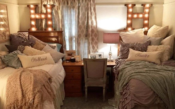 Having a theme for you and your roommate can make shopping a lot easier and set a really good vibe for your dorm. Here are the top coordinating dorm room ideas!