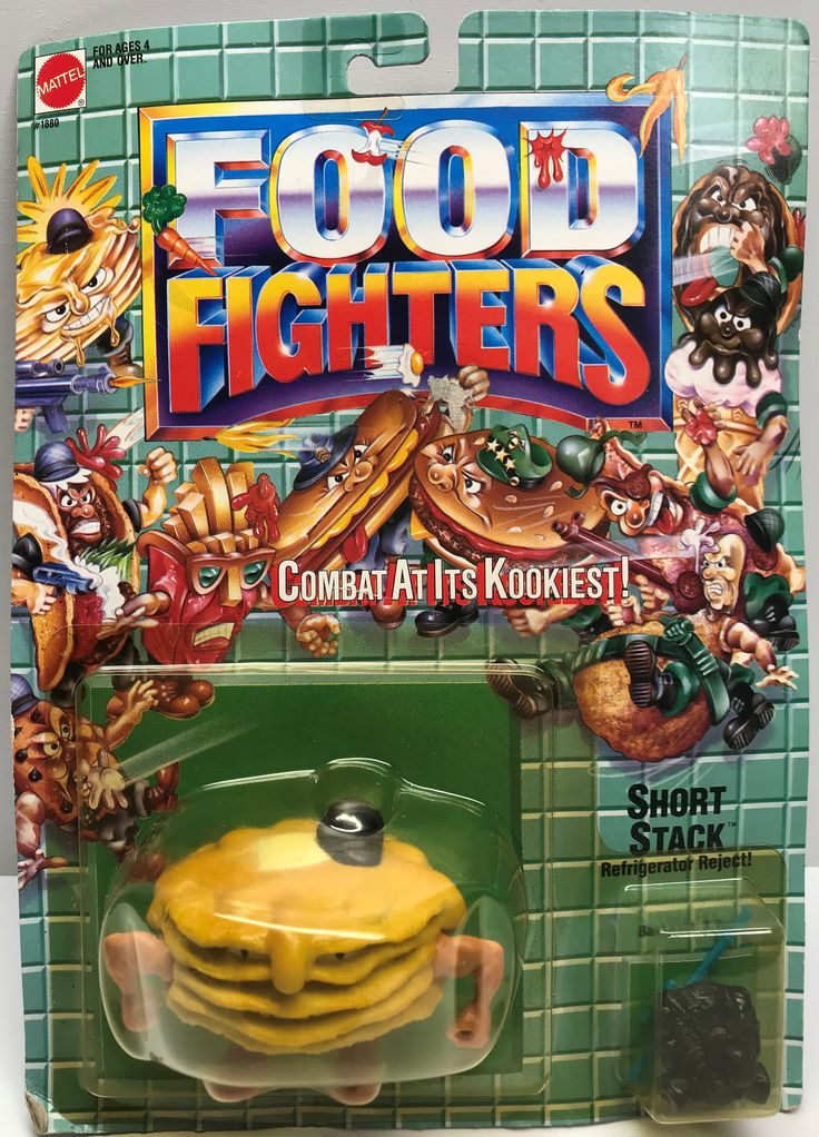 This just in at The Angry Spider Vintage Toy Store: TAS038071 - 1988 ...  Check it out here! http://theangryspider.com/products/tas038071-1988-mattel-food-fighters-short-stack-refrigerator-reject?utm_campaign=social_autopilot&utm_source=pin&utm_medium=pin