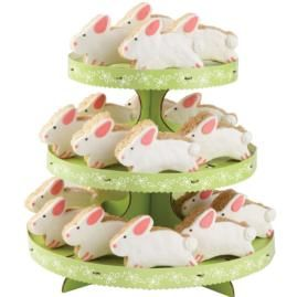 Sweet bunny treats made using your favorite crisped rice cereal treat recipe, then iced and decorated, make your Easter celebration simply delicious. Displayed on the 3-Tier Cupcake Stand, these bunnies are sure to be the talk of your springtime sweet table.: Crisp Rice, Rice Cereal, Easter Cupcakes, Cereal Treats, Easter Treats, Cupcakes Rosa-Choqu, Bunnies Treats, Cupcakes Stands, Rice Crispy Treats
