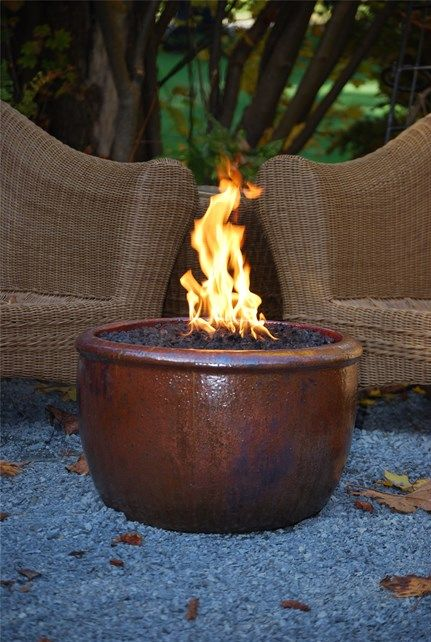 Glazed Fire Pit Fire Pit Oasis Outdoor Environments Woodinville, WA