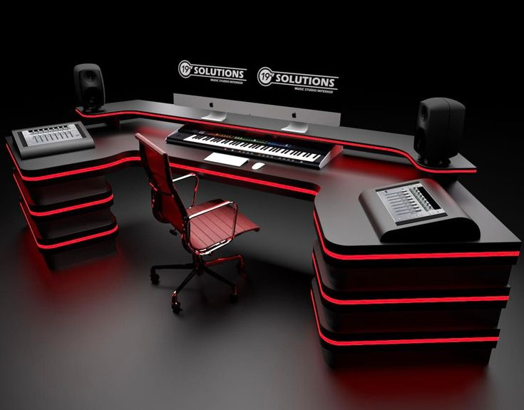 """1,953 Likes, 50 Comments - EDM STUDIO (@edm_studio) on Instagram: """"This is a crazy Desk OMG love to the first sight 😍 @19inchsolutions @workbyrene this is Insane! 🔥"""""""