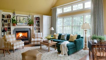 Cape Cod Gal - Traditional - Living Room - Chicago - Elizabeth Drake of Drake Interiors Limited