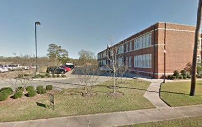 Bastrop High School in Morehouse Parish, Louisiana.