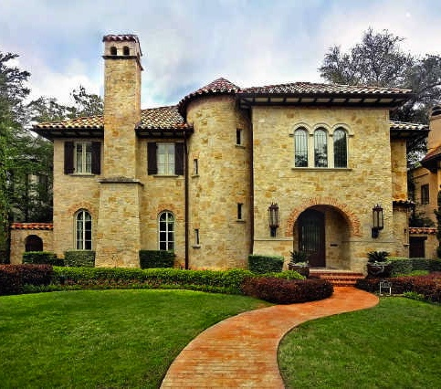 499 best images about tuscan villa on pinterest for Tuscan villa house plans