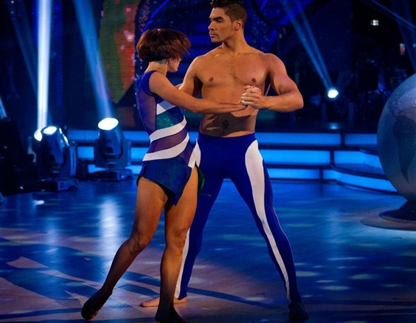Louis Smith and Flavia Cacace (© BBC)