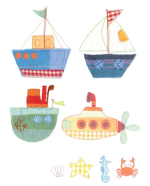 Stitched work by Stephanie Hinton, via Behance