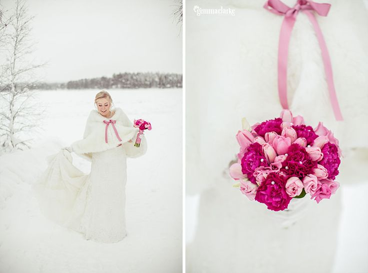A fairytale wedding in the Arctic – Jaana and Tuomas