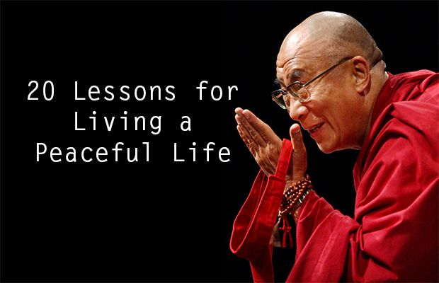 The important lessons in life
