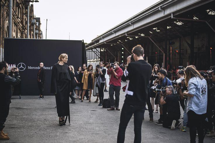 Gemma Ward at the Opening of MBFWA 2015