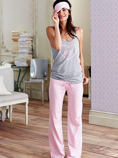 The Pillowtalk Tank Pajama /movie night in my fav comfy pj's