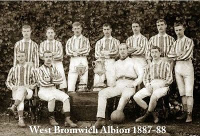 West Bromwich Albion FA Cup winners 1887-88 - #West Bromwich Albion #Quiz  #West Brom