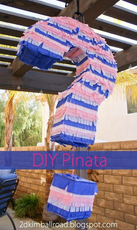 DIY Pinata - Gender Reveal Party