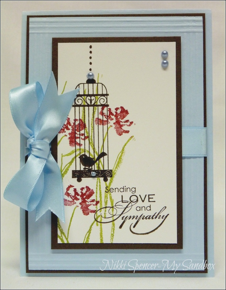 Sympathy Card Ideas To Make Part - 33: I Love This!