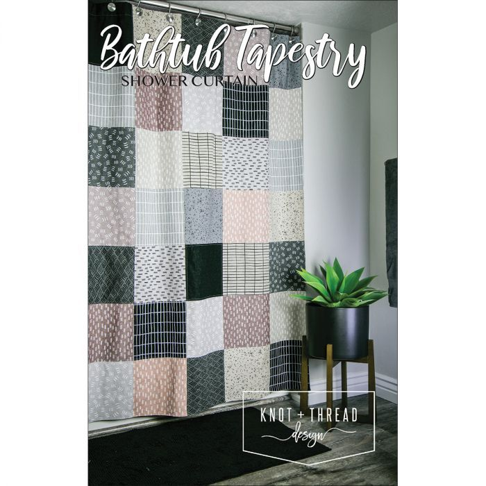 Bathtub Tapestry Shower Curtain Pattern Curtain Patterns No Sew