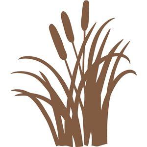 Silhouette Design Store - View Design #9336: cattails