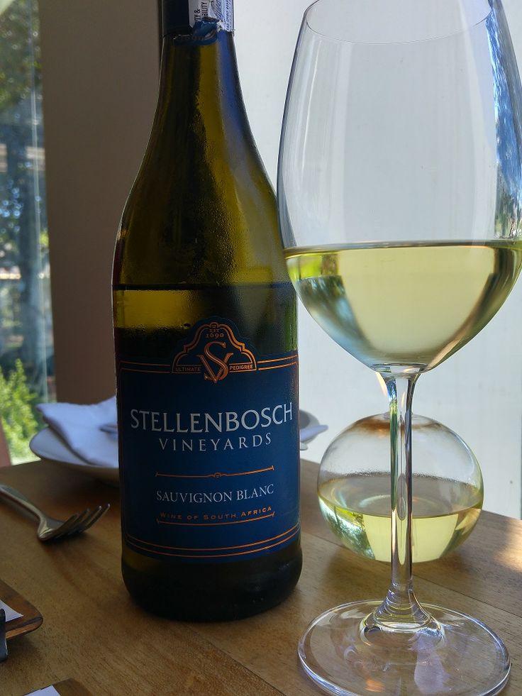 Sauvignon Blanc at Bistro 13, Stellenbosch