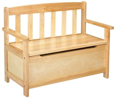 plans to build a toy box bench | Quick Woodworking Projects