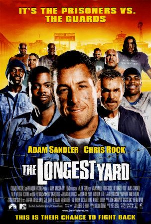 The Longest Yard is one of my favorite movies! I know it's a remake of an old movie, which I've never seen, but I love this one because I'm a huge fan of Adam Sandler, Chris Rock & Nelly! A good comedy with lovable characters!