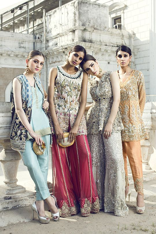 Intricate details, vivid color schemes and gorgeous draped silhouettes- dynamic duo Saira Shakira have yet another hit collection on their hands; delicately named 'Songs of Summer' This…