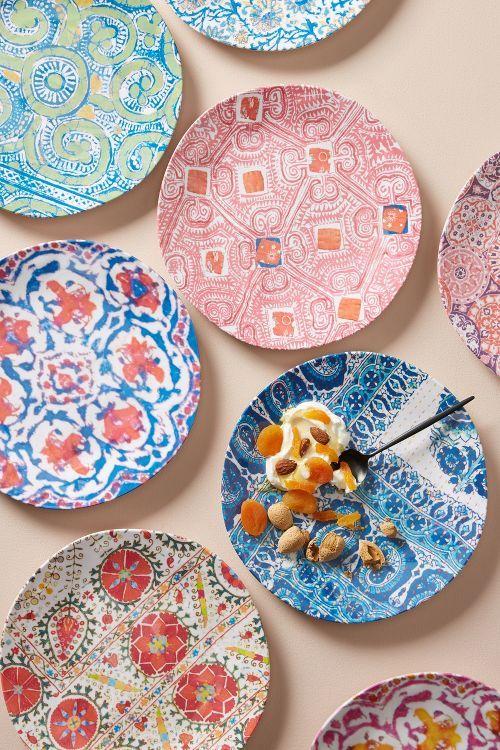 melamine plates for outside