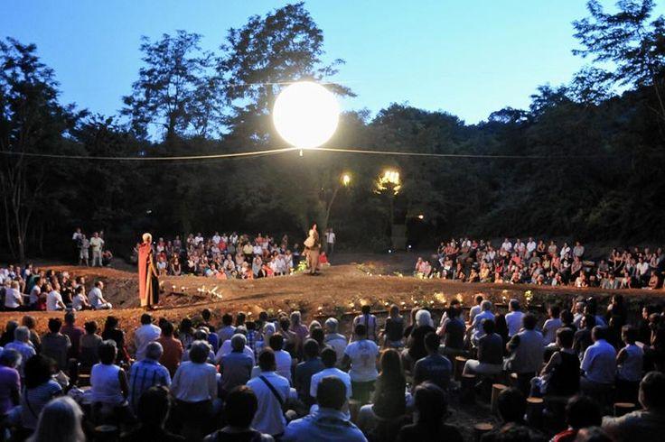 La nuit des Camisards - Spectacle écrit par Lionel Astier. Cévennes Tourisme