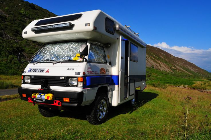 Mitsubishi L300 4x4 Campervan Expedition Motorhome Monster