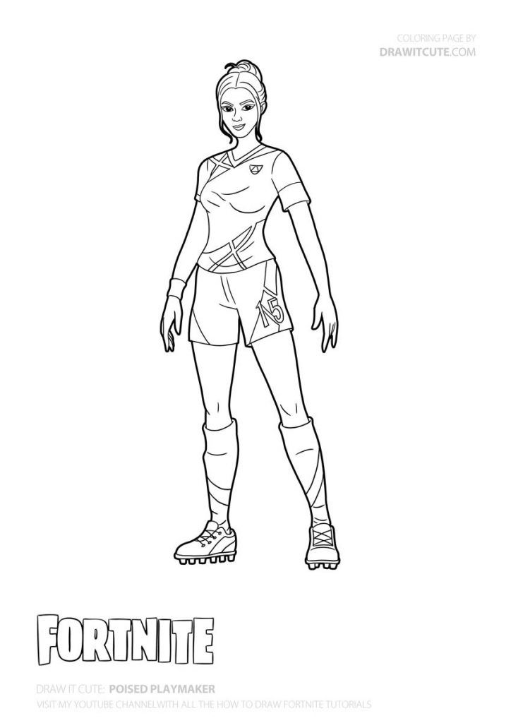 Poised Playmaker Coloring Page Dessin A Imprimer Coloriage Dessin