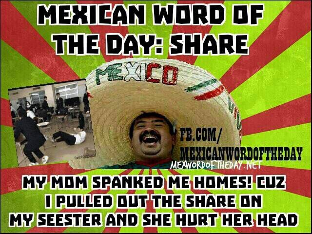 mexican word of the day template