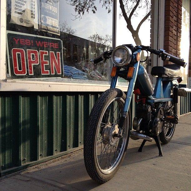 Heavy hitter moped.  norwoodshop.ca/store/