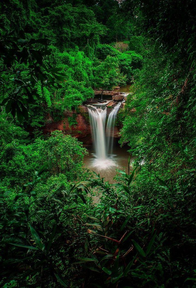 Heaw Suwat Waterfall, Khaoyai National Park, Thailand
