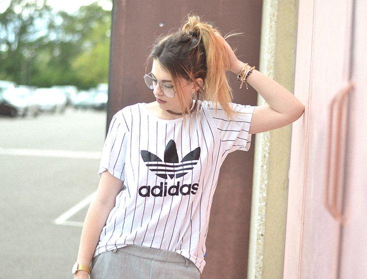 veste jean trouée et AIR MAX 97, adidas | Crossedfingers