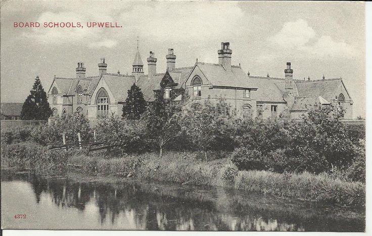 VINTAGE POSTCARD,BOARD SCHOOLS,UPWELL.NORFOLK.NR WISBECH.C.1905. | eBay