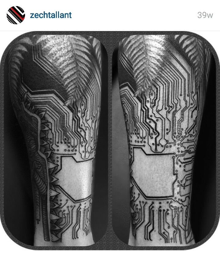 30 best electronic circuit tattoo images on pinterest circuit tattoo amazing tattoos and. Black Bedroom Furniture Sets. Home Design Ideas