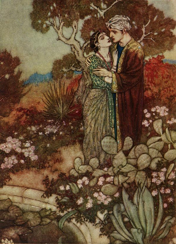 Dreamer of Dreams by the Queen of Romania - Edmund Dulac - WikiPaintings.org