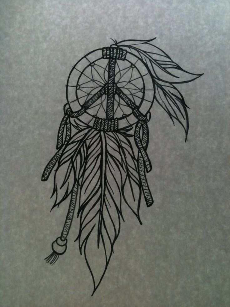 Dreamcatcher Tattoos For Girls | Pin Dream Catcher Feather Tattoo Indian Tattoos Designs on Pinterest