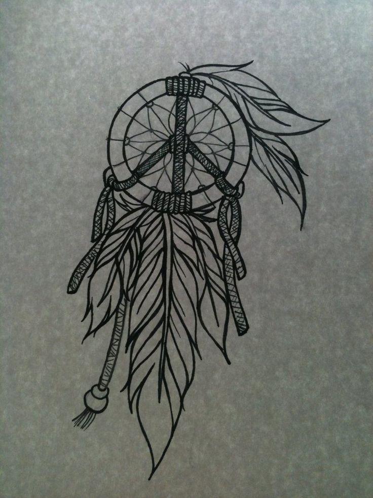 Dreamcatcher Tattoos For Girls | Pin Dream Catcher Feather Tattoo Indian Tattoos Designs on Pinterest