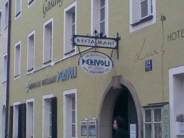 Perivoli Greek Restaurant, Regensburg. Good food and atmosphere.