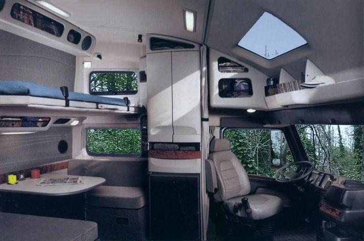 Volvo trailer interior design details pinterest road king tractor and wheels for Volvo semi truck interior accessories