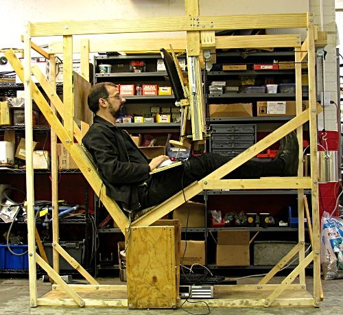 The Spaceship Chair Built At Milwaukee Makerspace