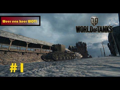WEER EEN KEER WOT! World of Tanks #3 Matias Gaming