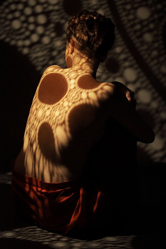 Sensual Result Of Unusual Photo Session Using The Light Of Floor Lamp I  Florescence By Calabarte