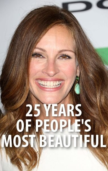 Actress Julia Roberts has been named People Magazine's Most Beautiful Person a record four times. Who will be on the 2014 cover? http://www.recapo.com/today-show/today-show-news/today-25th-annual-beautiful-people-jess-cagle-people-magazine/
