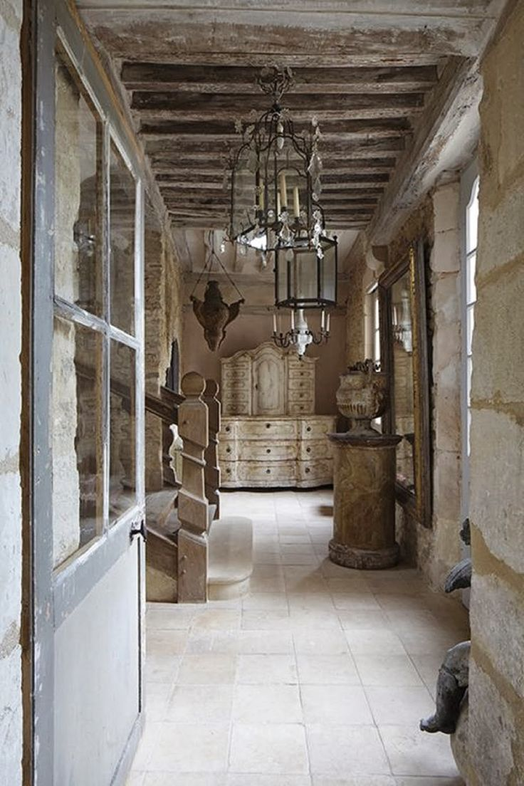 171 best french limestone tiles images on pinterest for Rustic french country