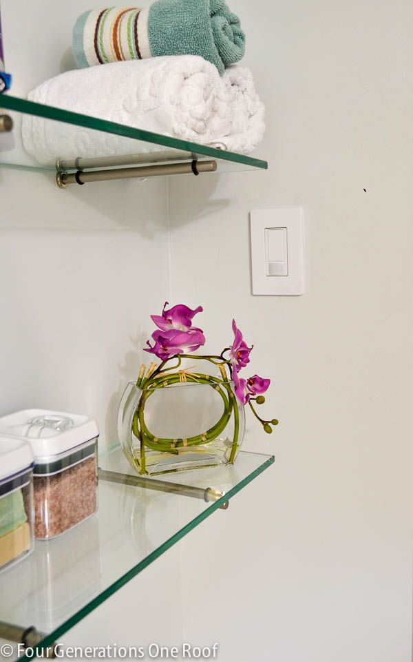 how to install a motion sensor light switch + video tutorial @Four Generations One Roof