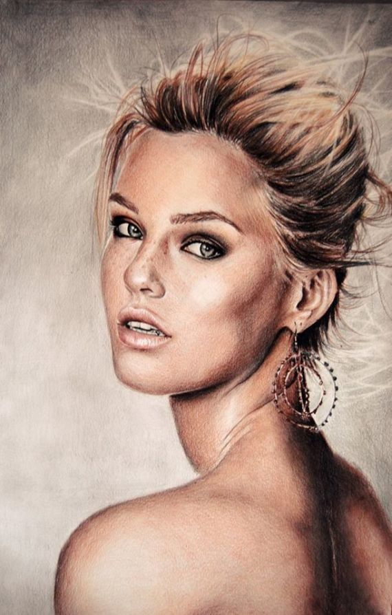 Best Colored Pencil Images On Pinterest Draw Drawing And Art - Artist uses pencils to create striking hyper realistic portraits