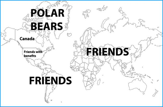 The Canadian worldview is quite nice: | 38 Reasons Everything Is Way Better In Canada